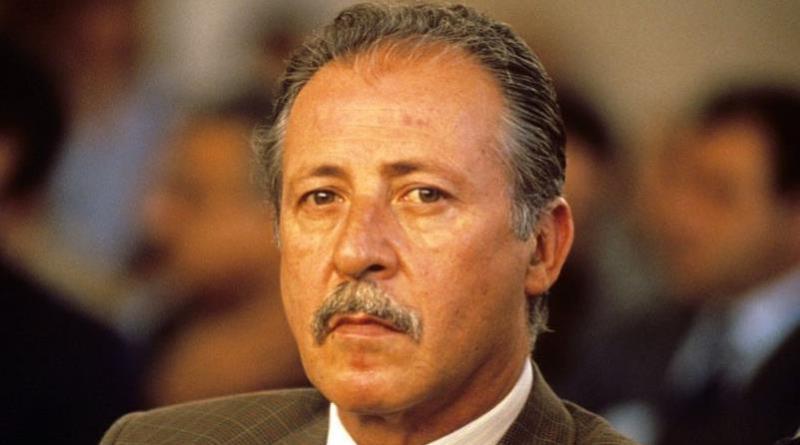 Paolo Borsellino, magistrato morto nella strage di via D'Amelio a Palermo il 19 luglio del 1992 insieme agli agenti della sua scorta