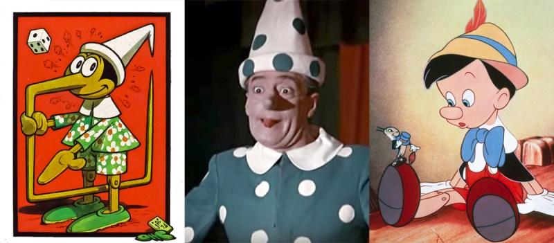 Versioni di Pinocchio