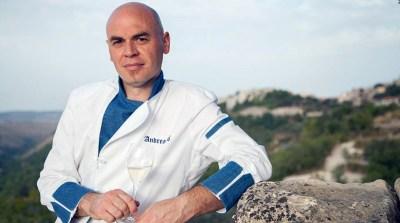 Andrea Alì, ristoratore di Palazzolo Acreide