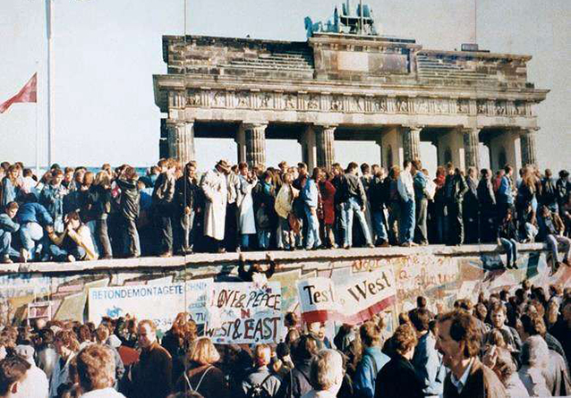 caduta muro di Berlino 1989
