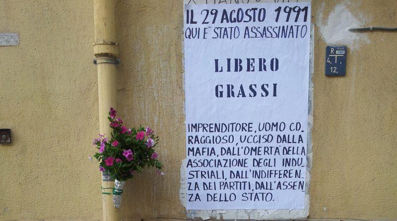 Libero Grassi anniversario