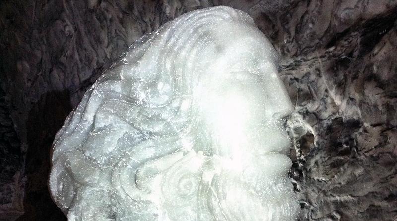 Gigantesca testa di salgemma