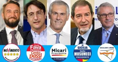 Candidati presidente elezioni Sicilia 2017