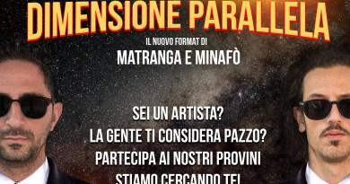 Dimensione Parallela, il nuovo programma di Matranga e Minafò dopo il successo di Sicilia Cabaret