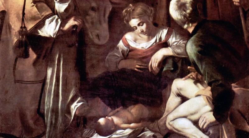 """""""Natività con i Santi Lorenzo e Francesco d'Assisi"""" nell'Oratorio della Compagnia di San Lorenzo a Palermo"""