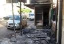 In fiamme nella notte edicola a Palermo
