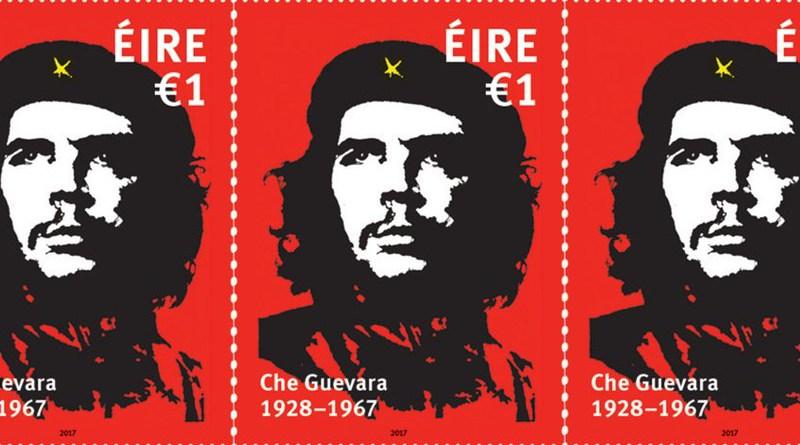 Francobollo irlandese per il 50° anniversario della morte di Ernesto Che Guevara