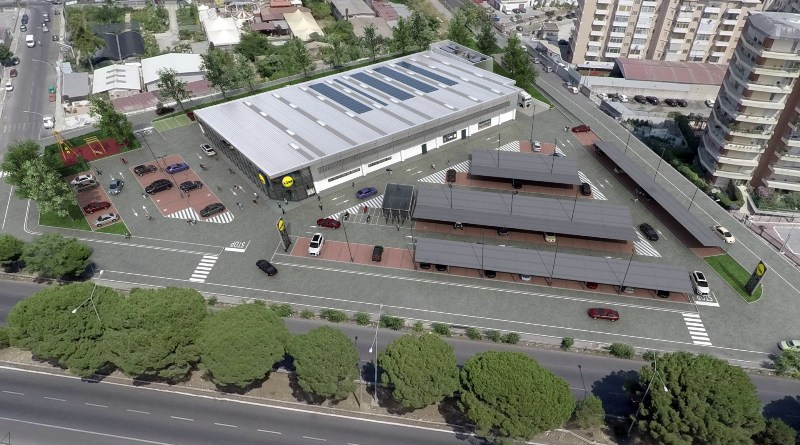 nuovo Lidl a Palermo