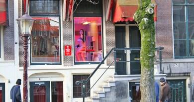 Case d'appuntamento nel quariere a luci rosse di Amsterdam