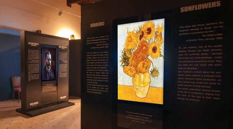van gogh multimedia experience a Monreale