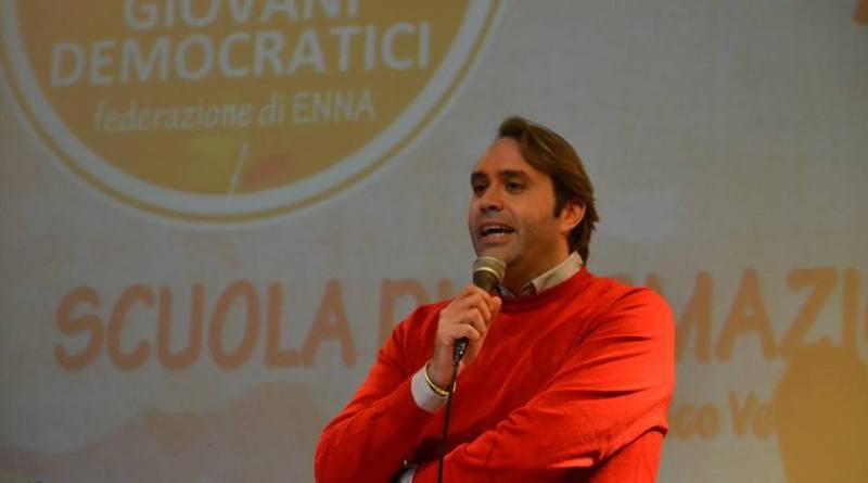Il presidente della commissione Lavoro all'Ars Luca Sammartino, del Pd, indagato per presunte irregolarità in un seggio speciale alle scorse elezioni regionali