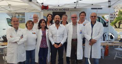 Campagna antinfluenzale, prima tappa del camper itinerante alla Guadagna