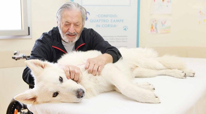 Pet therapy contro la Sla grazie al progetto ConFido: quattro zampe in corsia. Benefici sia fisici che psicologici nei pazienti