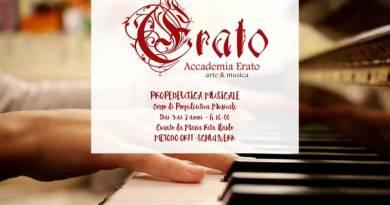 All'Accademia Erato il corso di Propedeutica musicale per bambini