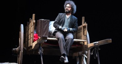 Simone Cristicchi in scena al Teatro Biondo di Palermo con Il secondo figlio di Dio dal 17 novembre