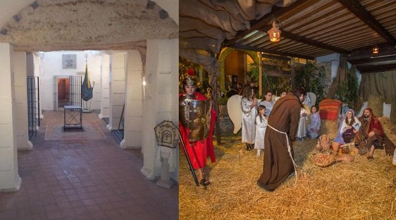 Una visita solidale organizzata da BCsicilia al Rione Danisinni di Palermo per scoprire la cripta della chiesa di S. Agnese e il Presepe vivente