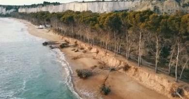 """Agrigento, l'associazione Mareamico lancia l'allarme: """"La spiaggia di Eraclea Minoa sta sparendo"""". Il video degli effetti dell'erosione"""