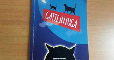 """""""Gatti in fuga"""", il nuovo libro di Serena Poulton per aiutare i trovatelli a quattro zampe"""