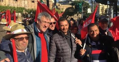 Intervista a Maurizio Landini (Cgil), oggi a Palermo per partecipare allo sciopero generale contro la riforma delle pensioni