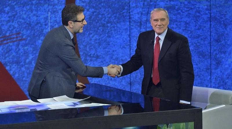 Fabio Fazio e Piero Grasso