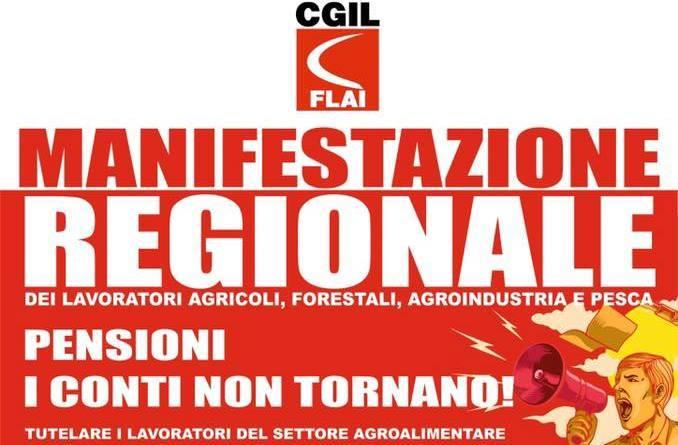 Flai Cgil, domani a Catania manifestazione regionale dei lavoratori agricoli e forestali