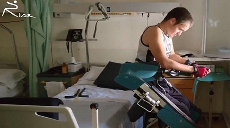 Presentata a Roma Rise (Robotic innovation for standing and enabling), la sedia a rotelle transformer che aiuta i disabili a rimettersi in piedi