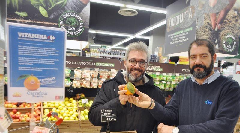 Ogni tre sacchetti ultraleggeri un'arancia in regalo: l'iniziativa di Carrefour Sicilia