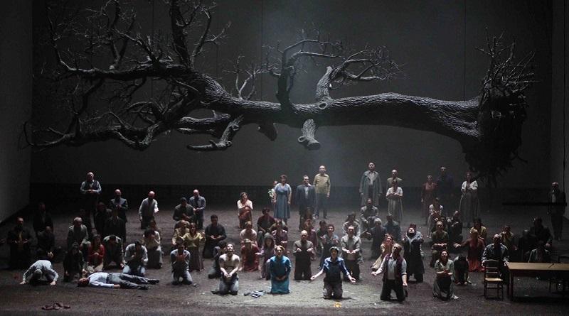 Al Teatro Massimo il Guillaume Tell diretto da Damiano Michieletto: un'opera tra Cupido e Kubrick, con la scena del terzo atto che genera qualche dissenso