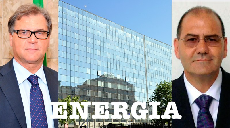Giovanni Pistorio e Pietro Alongi, candidati all'assessorato all'Energia
