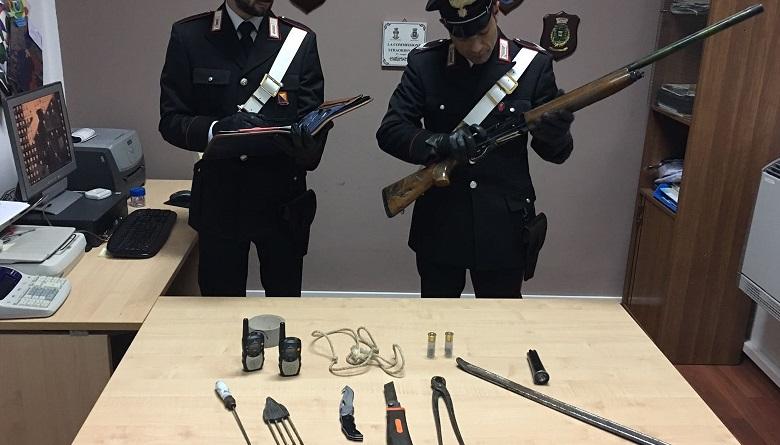 Contrasto al fenomeno del bracconaggio, i Carabinieri hanno arrestato tre uomini dopo un inseguimento all'interno della riserva naturale