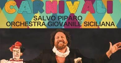 Al Teatro Politeama la grande festa di Carnevale con Piparo e l'Orchestra Giovanile Siciliana