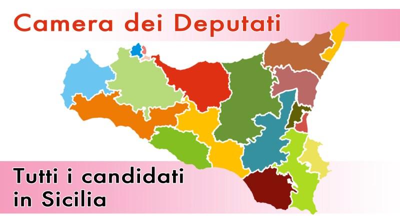 Collegi in Sicilia elezioni alla Camera dei Deputati