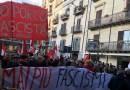 Palermo, partito il corteo antifascista. Diverbio tra una sindacalista e La Vardera – LE FOTO