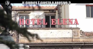 L'Hotel Elena, dopo i sigilli messi dalla Polizia Municipale a seguito di un servizio delle Iene, viene occupato da 7 famiglie di senzatetto