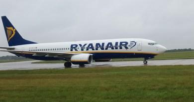 Con un comunicato stampa Ryanair ha confermato che per l'estate del 2018 non riaprirà la sua base a Trapani, lasciando solo 4 rotte da e per Birgi