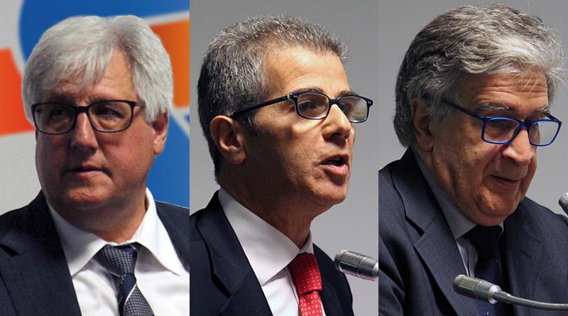 Michele Cappadona, Gaetano Mancini, Pietro Piro