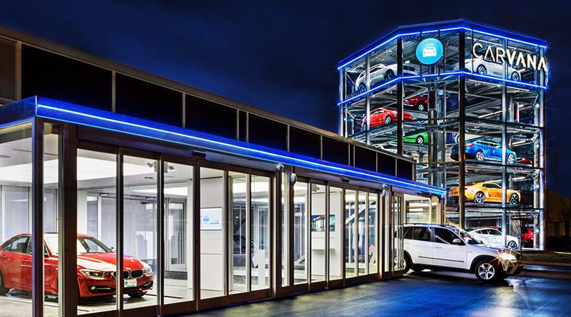 Distributore automatico di automobili Carvana