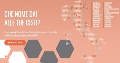 """""""Che nome dai alle tue cisti?"""" è il nome della campagna nazionale sull'idrosadenite suppurativa, conosciuta come malattia di Verneuil, che venerdì 9 marzo 2018 arriva a Palermo presso il reparto di Dermatologia dell'Ospedale ARNAS Civico (segue)"""