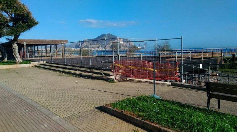 """Palermo, messo in sicurezza il pontile di Romagnolo. Gelarda (M5S): """"Premeremo per una riqualificazione della zona"""""""