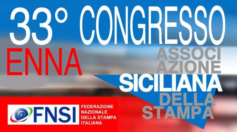 33° Congresso Associazione siciliana della stampa