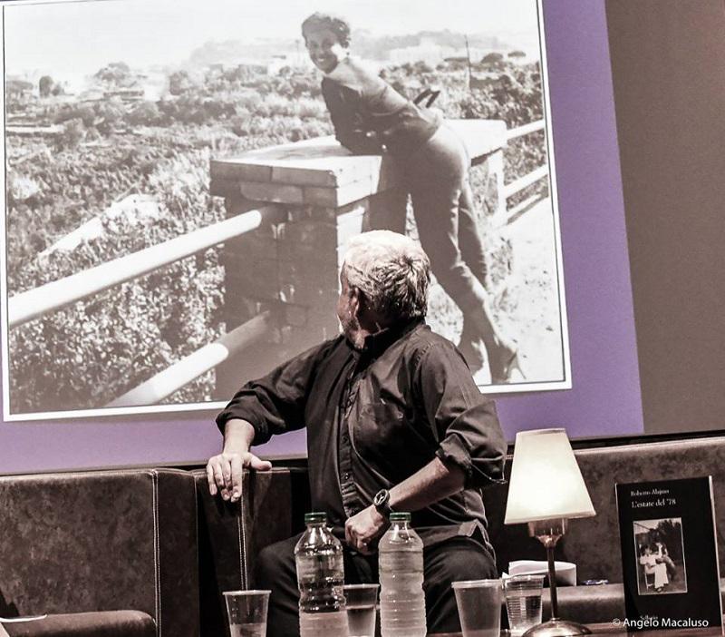 """Presentazione """"L'estate del '78"""" di Roberto Alajmo"""