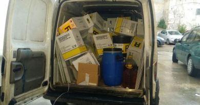 Mondello, sequestrato furgone carico di rifiuti sanitari a rischio infettivo