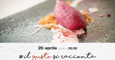 Cantine Nicosia celebra i suoi primi 120 anni di attività ospitando il prossimo 20 aprile, all'interno della rassegna Il Gusto si Racconta, lo chef stellato Accursio Craparo