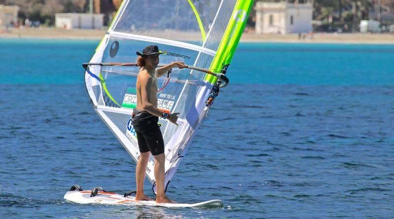 Mondello, prima giornata del campionato europeo di tavole a vela Techno Plus