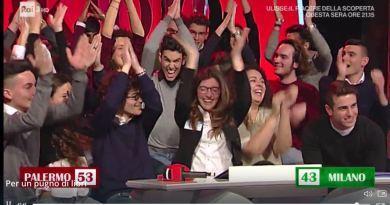 """Ieri pomeriggio il Liceo Galileo Galilei di Palermo ha vinto la finale del format televisivo """"Per Un Pugno Di Libri"""" in onda su Rai 3 alle 18."""
