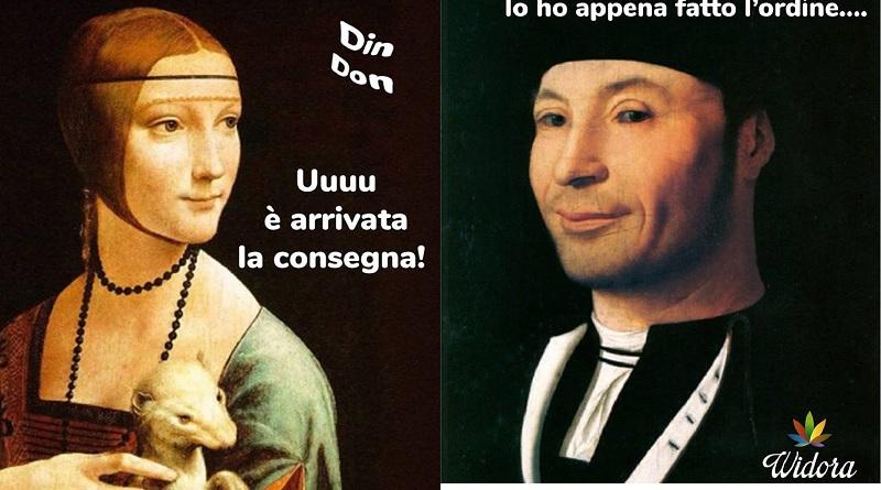 Il Ritratto d'ignoto di Antonello da Messina, utilizzato per pubblicizzare semi e fiori di marijuana legale. Il museo Mandralisca di Cefalù pronto a denunciare l'azienda Widora