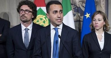 Toninelli, Di Maio, Grillo