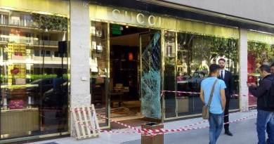 Palermo, nuovo tentativo di furto al negozio Gucci: forzata la porta secondaria