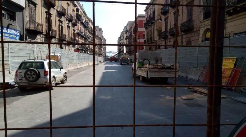 Palermo, nuovo cantiere per l'anello ferroviario: chiuso il primo tratto di via Amariiario: chiuso un tratto di via Amari