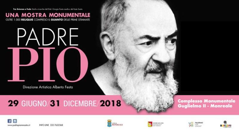 mostra Padre Pio Monreale